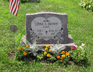 Leona Gertrude <i>Barris</i> Brown
