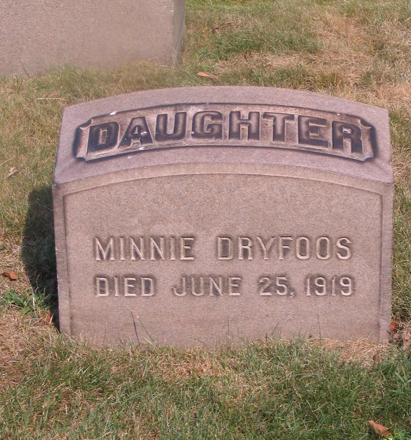 Minnie Dryfoos