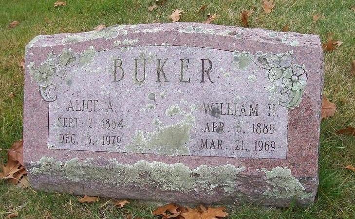Alice A Buker