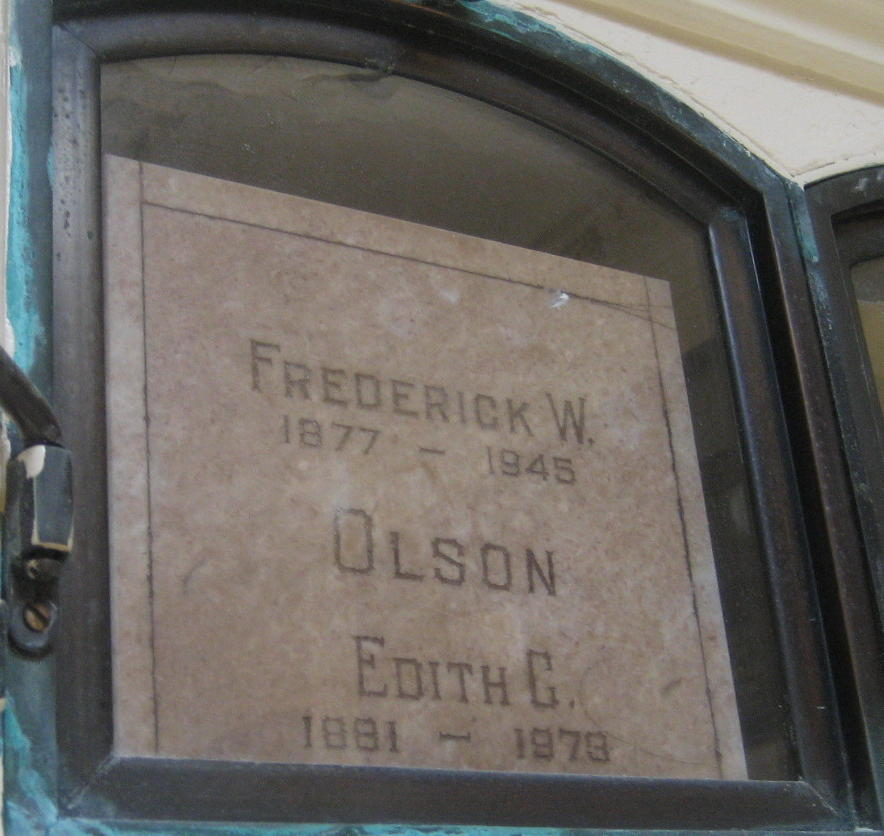 Edith Cordelia <i>Andrews</i> Olson