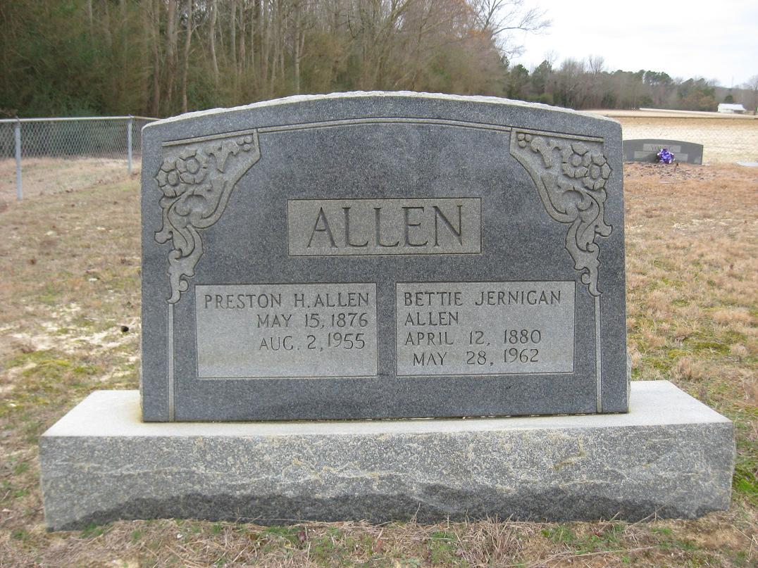 Bettie Florence <i>Jernigan</i> Allen
