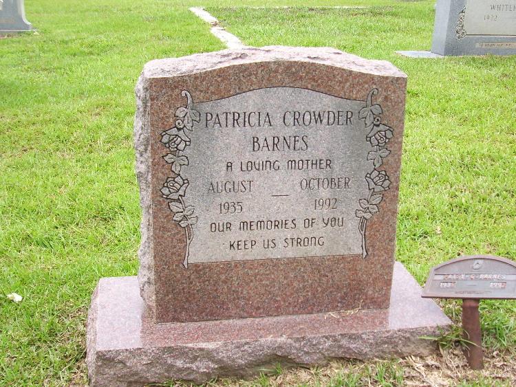 Patricia <i>Crowder</i> Barnes