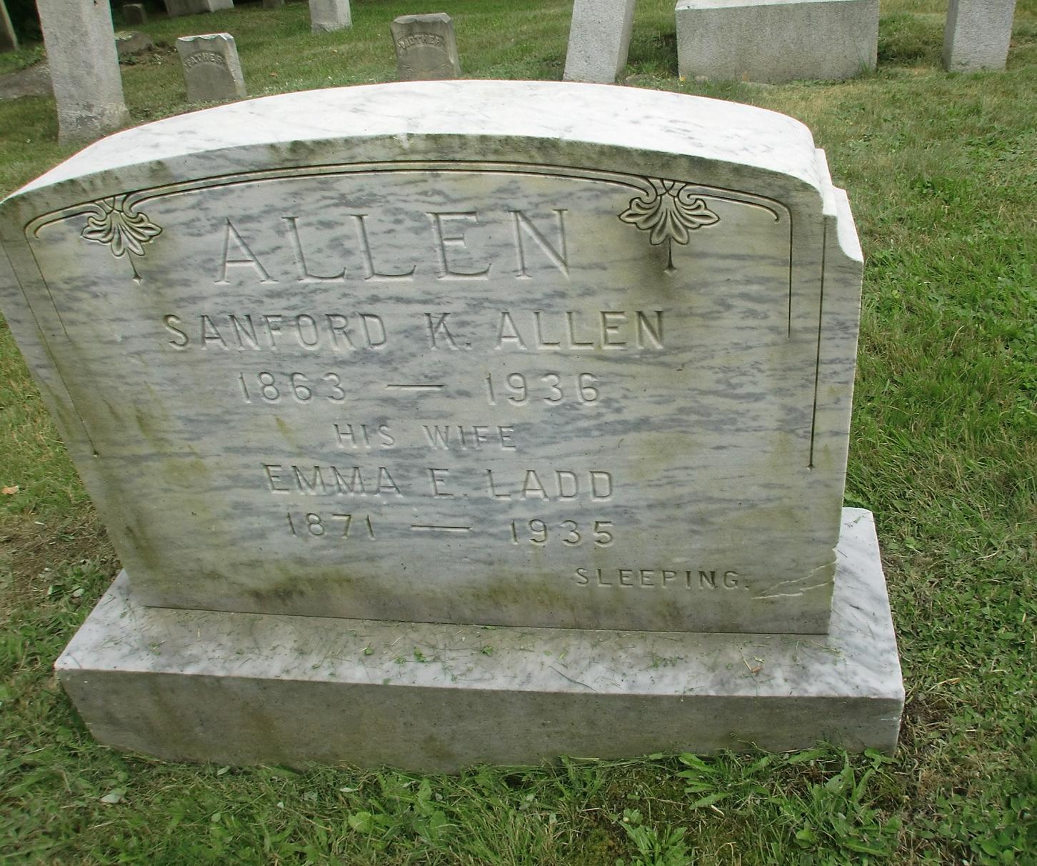 Sanford K Allen