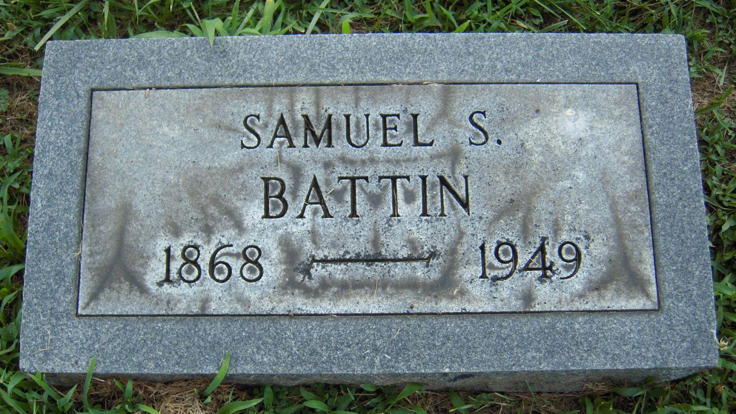Samuel Solomon Battin