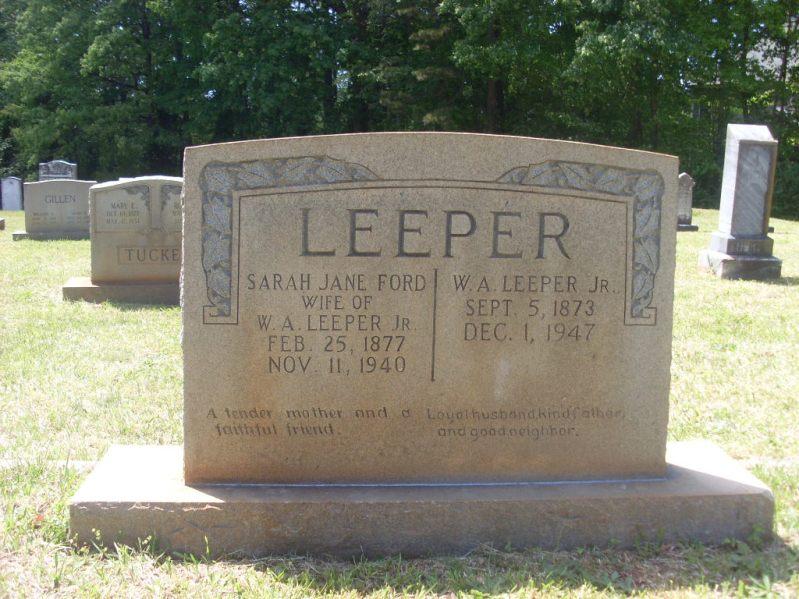 William A Leeper, Jr