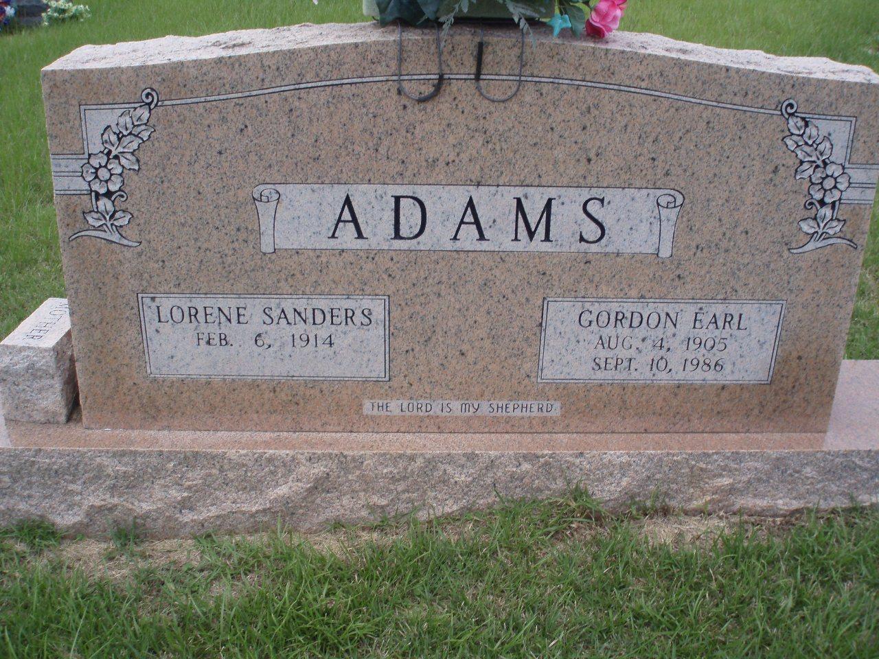 Gordon Earl Adams