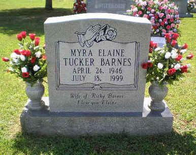 Myra Elaine <i>Tucker</i> Barnes