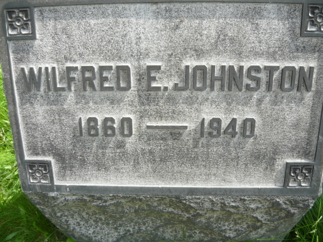 Wilfred E Johnston