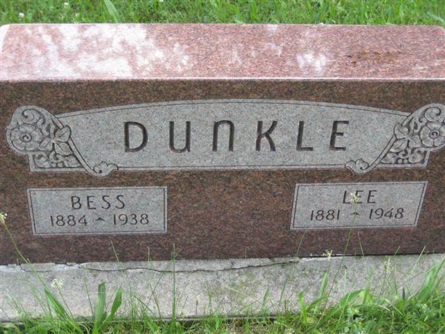 Rebecca Bess <i>Eis</i> Dunkle