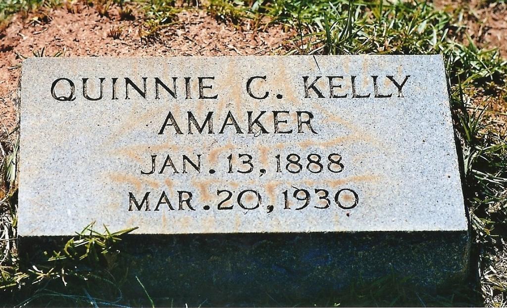 Quinnie C <i>Kelly</i> Amaker