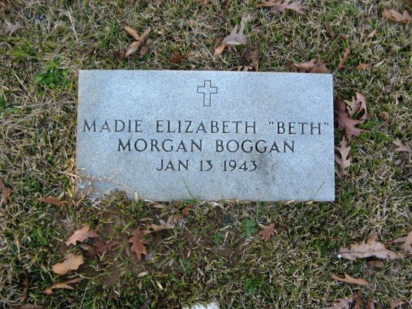 Madie Elizabeth Beth <i>Morgan</i> Boggan