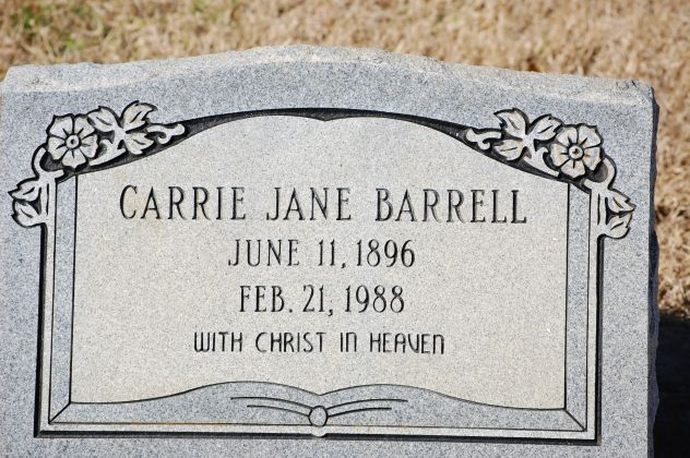 Carrie Jane <i>Shafer</i> Barrell