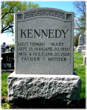 Lieut Thomas Kennedy