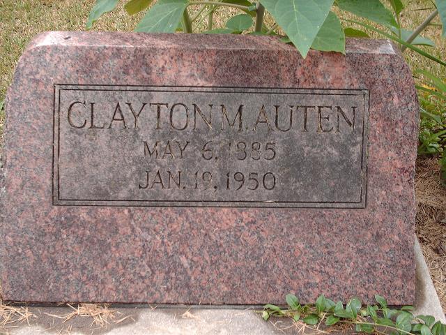 Clayton M Auten