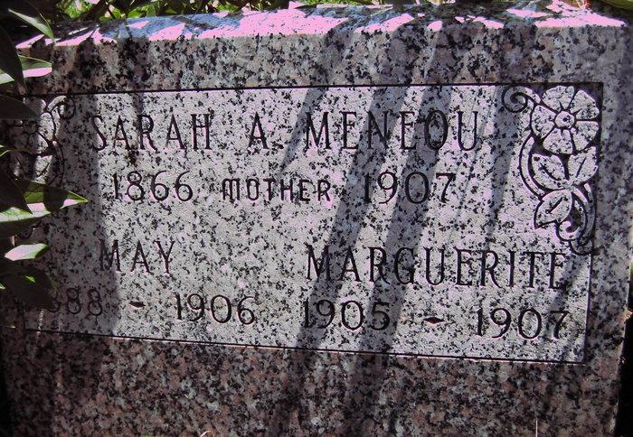 Sarah A Sally <i>Hunsaker</i> Meneou