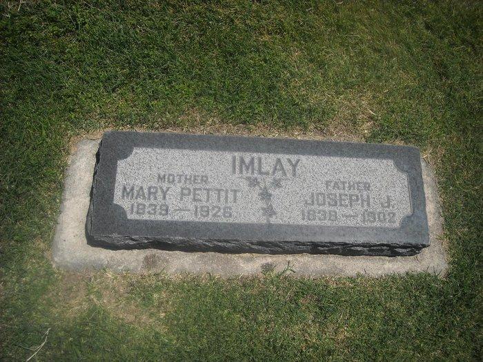 Mary Ann <i>Pettit</i> Imlay