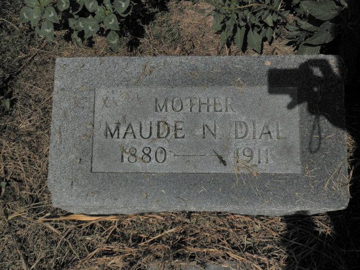 Maude <i>Newhouse</i> Dial