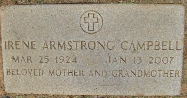 Irene <i>Armstrong</i> Campbell