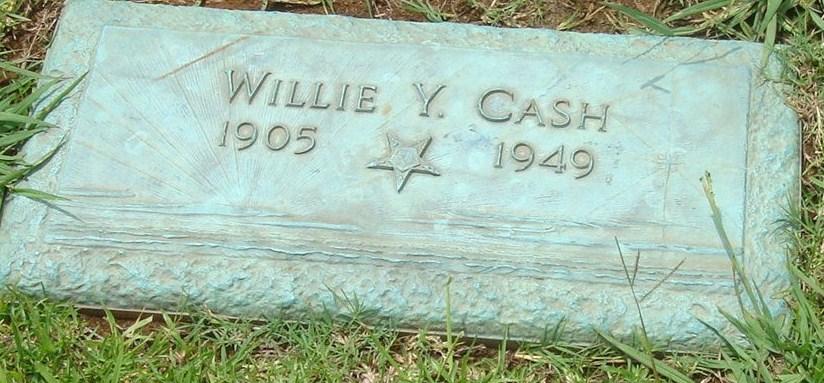 Willie Y. Cash