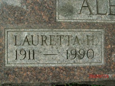 Lauretta H. <i>Nelson</i> Alexander