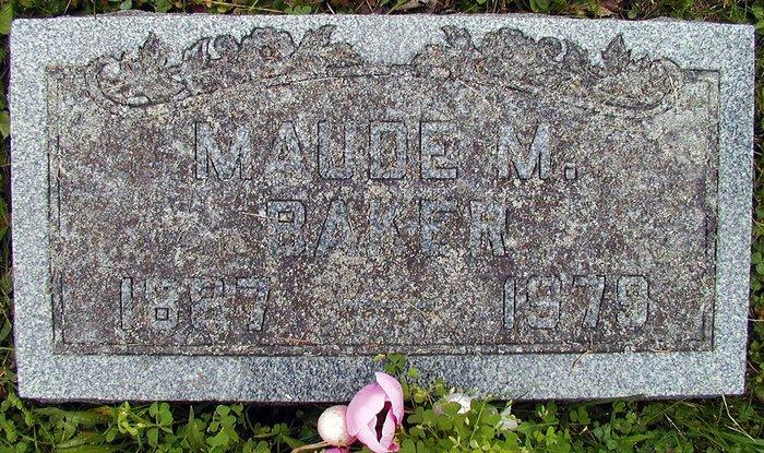 Maude Marilla <i>Smith</i> Baker
