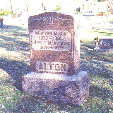 Jennie May <i>Hall</i> Alton
