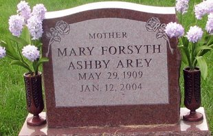 Mary Forsyth <i>Ashby</i> Arey