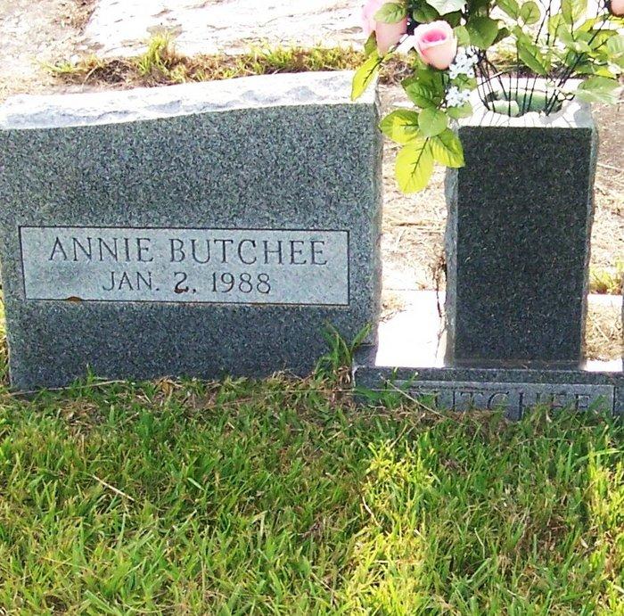 Annie T. <i>Leatherwood</i> Butchee