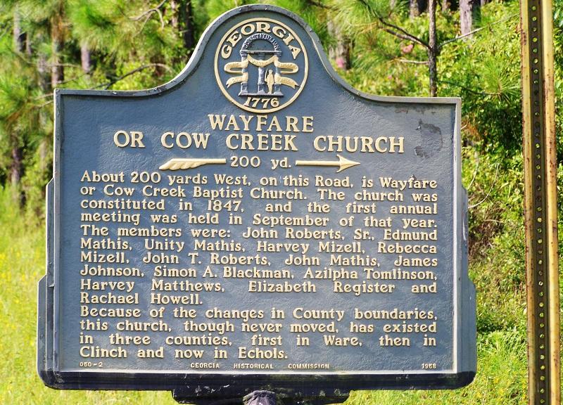 Wayfare Primitive Baptist Church Cemetery