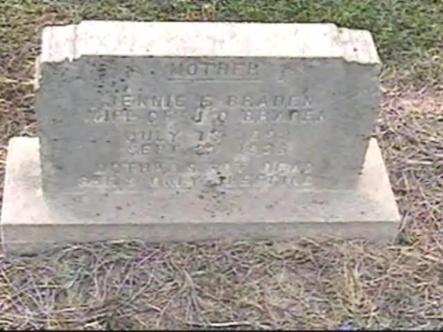 Virginia Ethel Jennie <i>Nuckolls</i> Braden