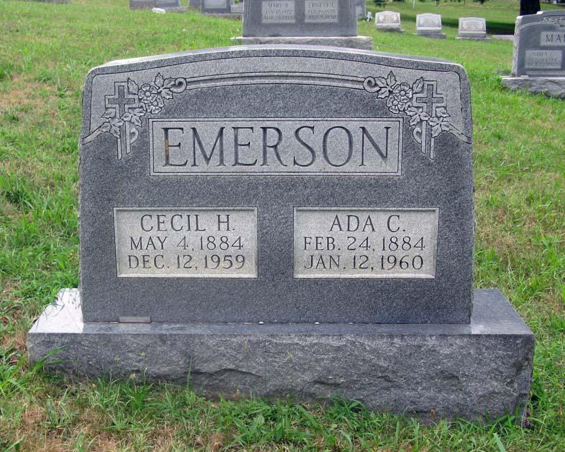 Cecil H Emerson