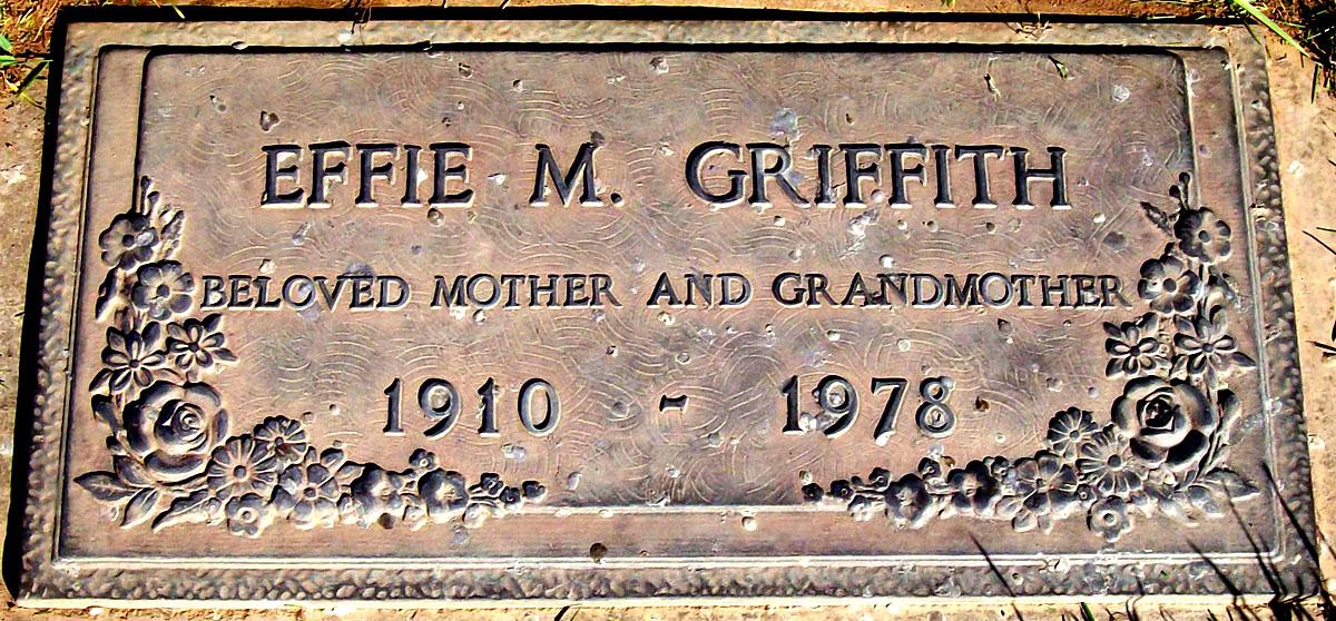 Effie Mintoria <i>Kinkade</i> Griffith