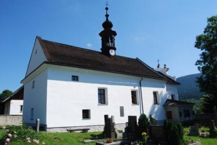 Horni Vltavice Parish Cemetery