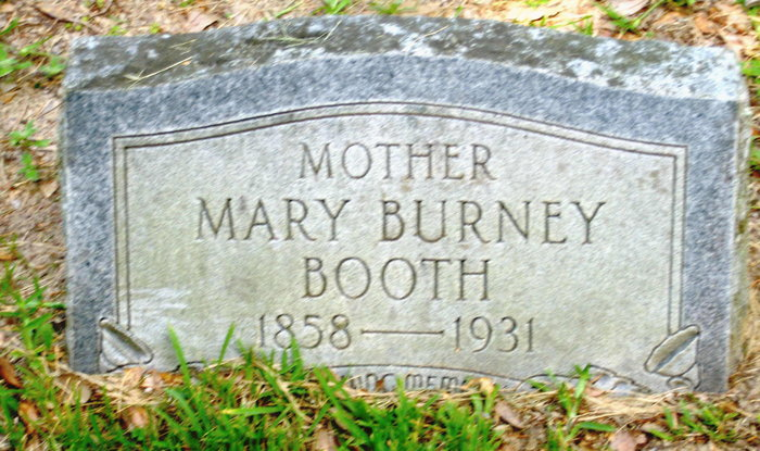 Mary Burney Booth