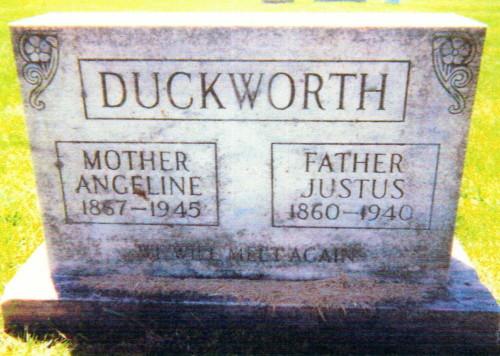 Angeline <i>Moore</i> Duckworth