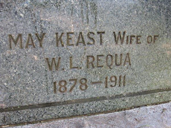 Laura May <i>Keast</i> Requa