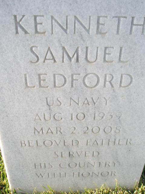 Kenneth Samuel Kenny Ledford