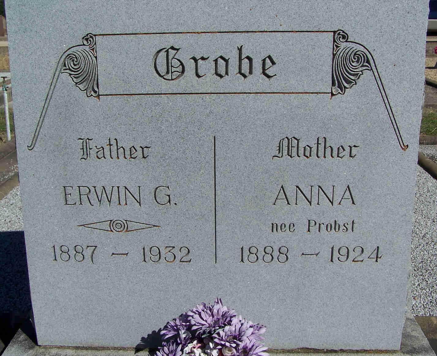 Anna <i>Probst</i> Grobe