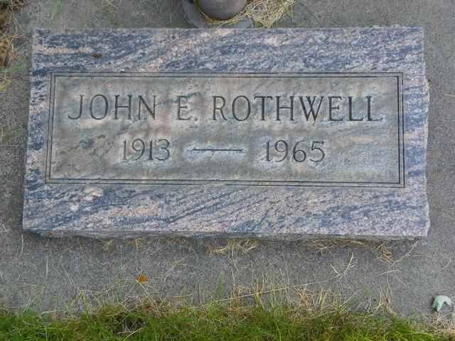 John Edward Rothwell