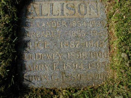 Margaret <i>Burnett</i> Allison