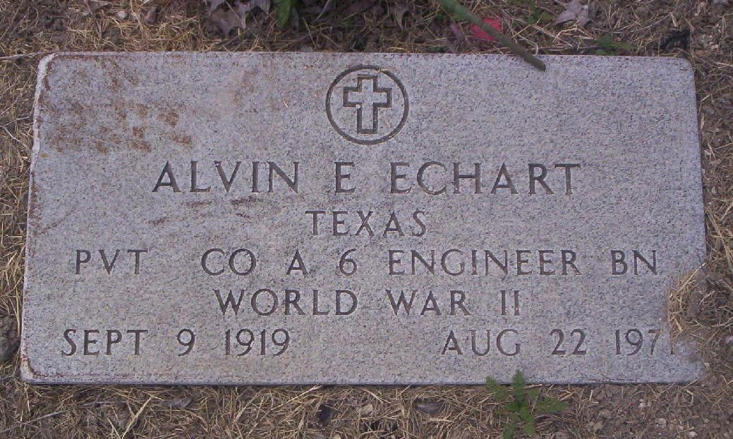 Alvin Edward Echart