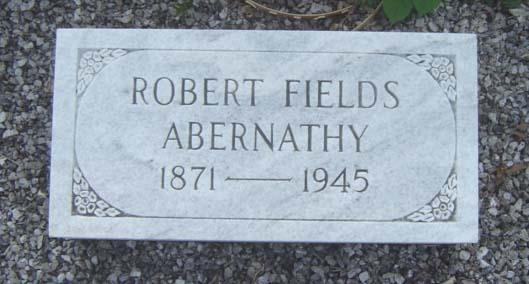 Robert Fields Abernathy