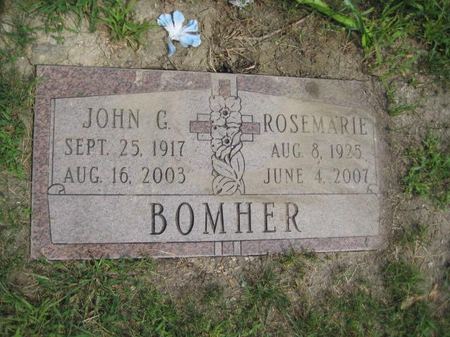 John George Bomher