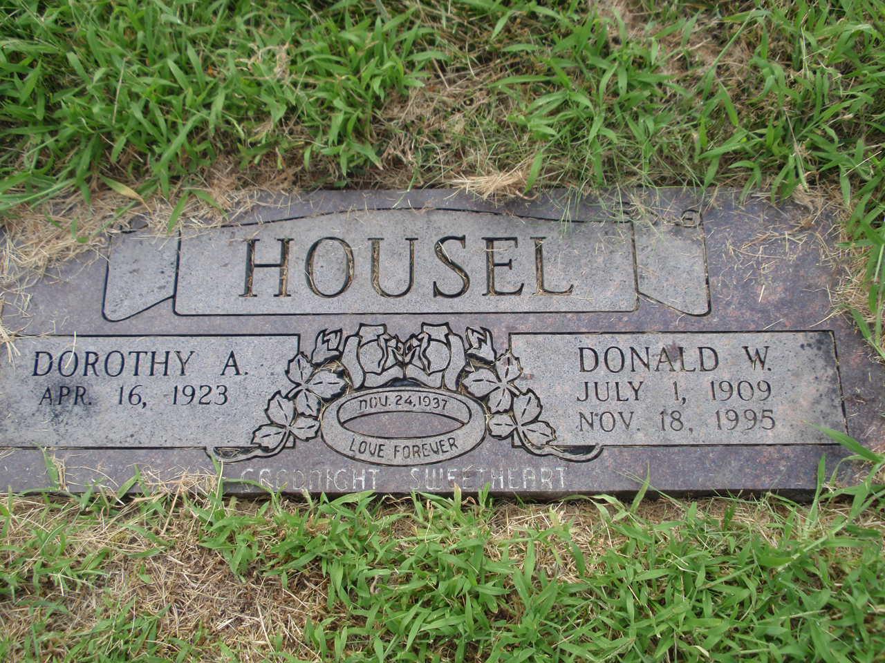 Donald Willis Housel