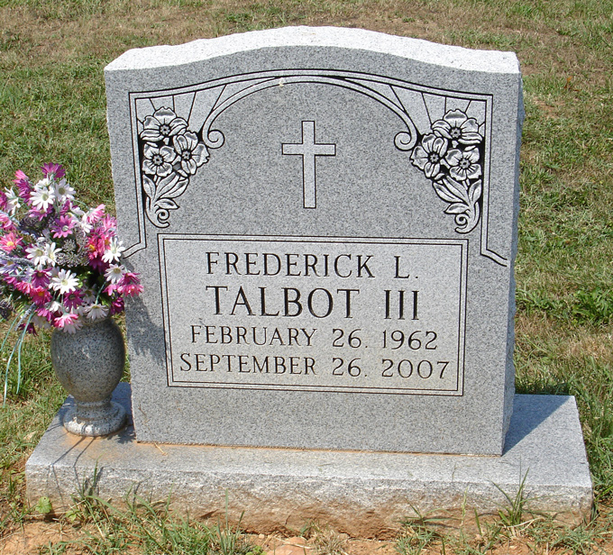 Frederick L Talbot, III