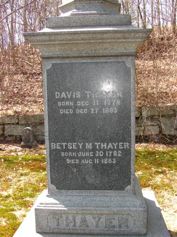 Betsey <i>Makepeace</i> Thayer