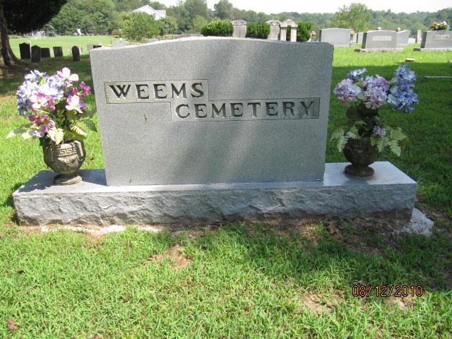 Weems Cemetery