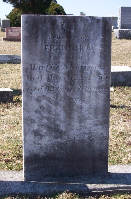 Franicka <i>Haldeman</i> Shaffner
