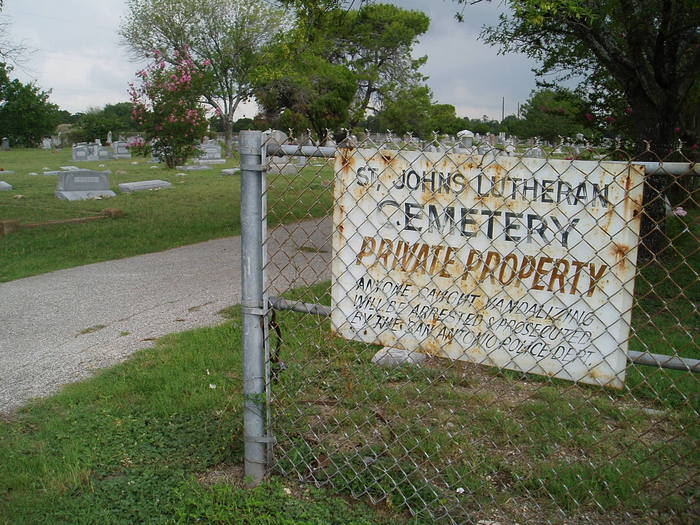 Saint Johns Lutheran Cemetery New