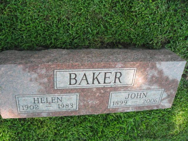 Helen Esther <i>Dilley</i> Baker